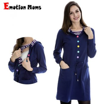 Emotion Moms Maternity Clothes Breastfeeding pregnancy dress Nursing Clothes pregnant dress Women Maternity Wear CLEARANCE PRICE