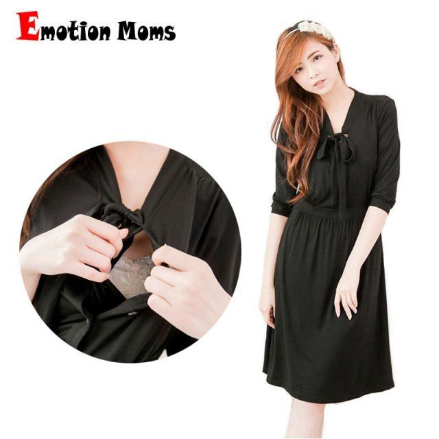 Emotion Moms maternity clothes maternity Dresses pregnant dress nursing Dress Breastfeeding pregnancy clothes for Pregnant Women