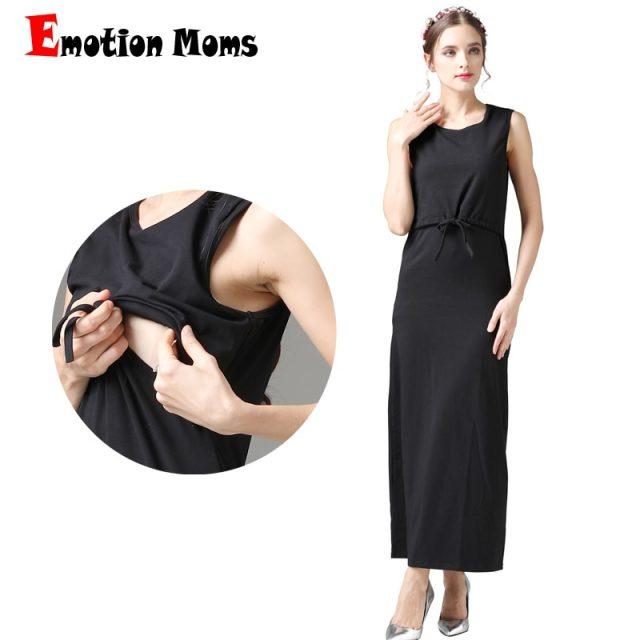 Emotion Moms New maternity clothes Breastfeeding Dresses nursing dress pregnancy clothes for Pregnant Women maternity dress