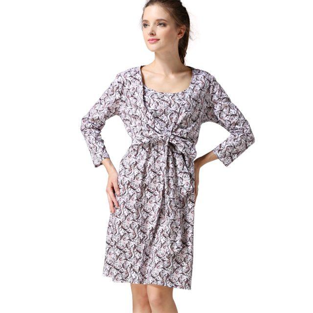 Emotion Moms Spring Maternity Nursing Dress Maternity clothes Breastfeeding dresses for Pregnant Women pregnancy Clothing