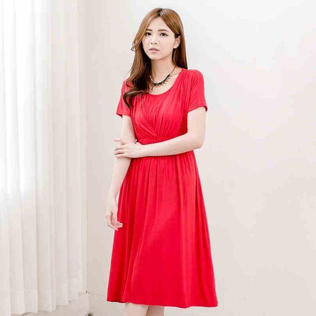 Emotion Moms Fashion nursing Dress Breastfeeding Dress Summer Maternity Clothes for Pregnant Women Maternity Dresses Soft Fabric