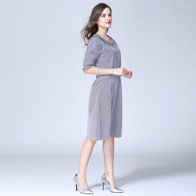 Emotion Moms Striped Maternity Clothes Nursing Breastfeeding pregnancy Dresses for Pregnant Women Maternity Dress S M L XL