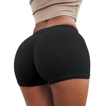 Short Femme Sexy White Black Summer High Waist Elastic Fitness Shorts Women Leisure Female Short Mujer