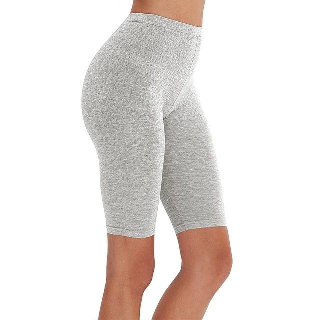 95% cotton 5% spandex women slimming running shorts skinny very soft highly stretchy girl short M30292