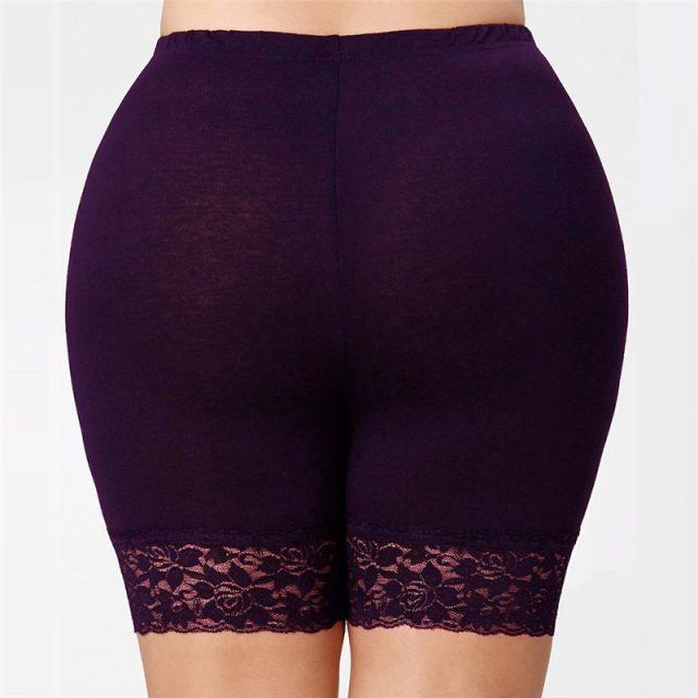 CUHAKCI Fashion Women Summer White Black Shorts Women Solid Colors Top Elastic High Waist Shorts Casual Plus Size Short S-5XL