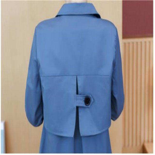Fashion Women Trench Coat Autumn Medium-Long Female Coat Plus Size 3xl Button Women Clothes Turn-Down Collar Windbreak M257
