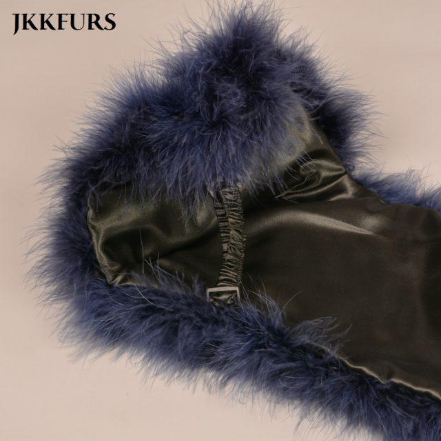 2019 Women Real Fur Cape Shrug Genuine Ostrich Feather Fur Shawl Poncho Fashion Wedding Hot Sale One Size S1264