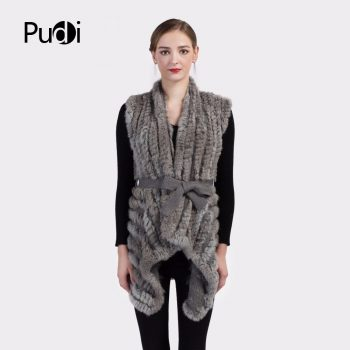VT7013 New women knitted vest waistcoat/jackets garment sleeveless gielt  with belt hemlines bottom