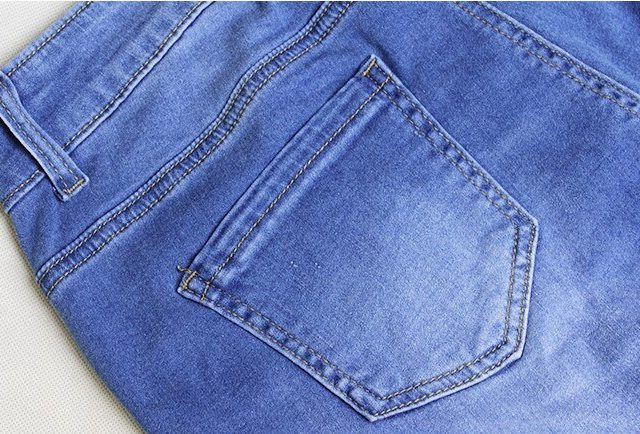 catonATOZ 2016 Hot Fashion Ladies Plus Size Cotton Stretch Denim Pants Womens Ripped Knees Skinny Jeans For Women