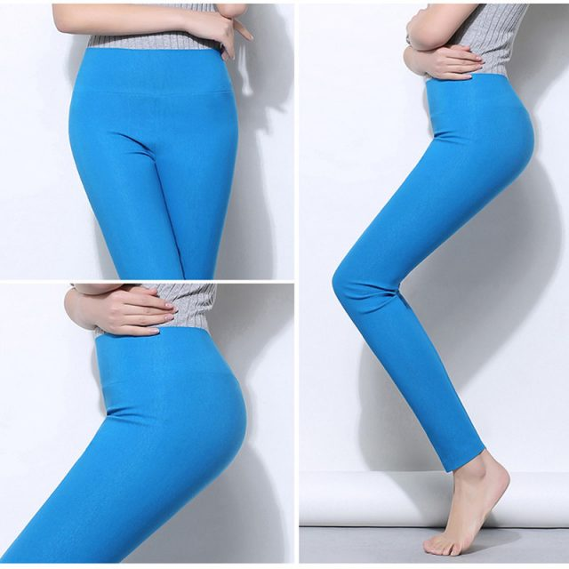 6XL Plus Size Women Pants Slim High Waist Stretch Pencil Pants Skinny Elasticity Capris For Women Ladies Trousers Pantalon Femme
