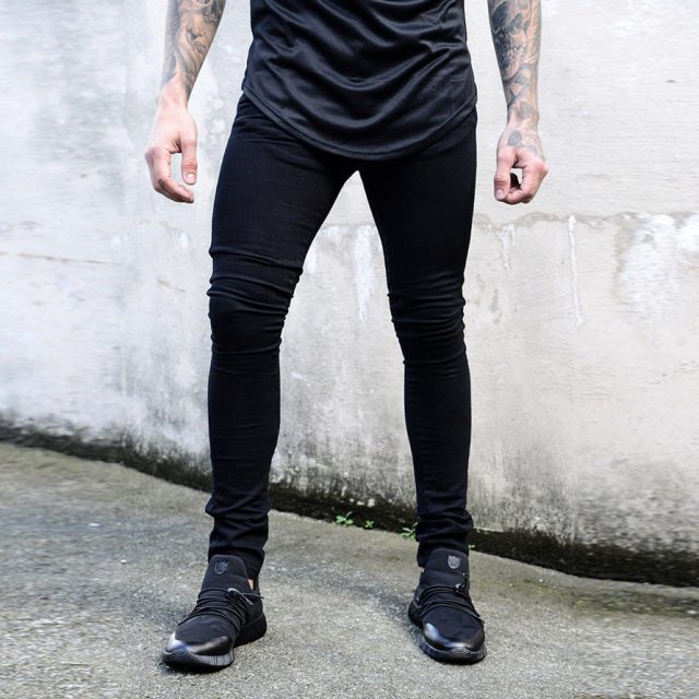 Skinny Jeans Men Black Classic Hip Hop Stretch Jeans Slim Fit Fashion Famous Brand Biker 2019 New Style Tight Jeans