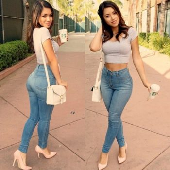 High Waist Jeans for Women 2019  Slim Skinny Cotton Denim Women Jeans Pantalones Vaqueros Mujer Pants Trousers Jeans