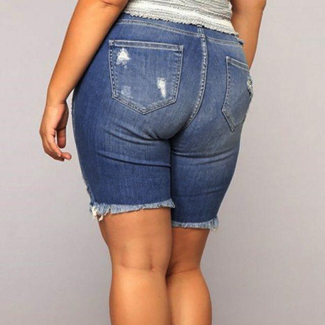 5xl Pants Push up Jeans Women Jeans Trousers Jeans De Mujer 2019 Summer Short Jeans Denim Female Pockets Wash Denim Shorts Z4