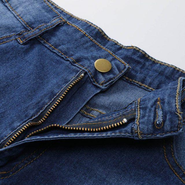 Jean Femme Taille Haute Women Jeans Trousers Female Jeans New Women Summer Short Jeans Denim Female Pockets Wash Denim Shorts Z4