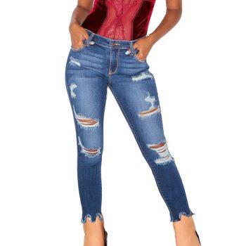 jeans 2019 high waist jeans mujer spodnie damskie jean vaqueros mujer denim streetwear plus size calca jeans feminina pantalo Z4
