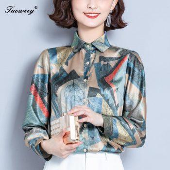 Fashion Women Blouses Floral Print Ladies Shirts spring Casual Short Sleeve Blouse Tops 2020 New O-neck Shirt blusas Plus Size
