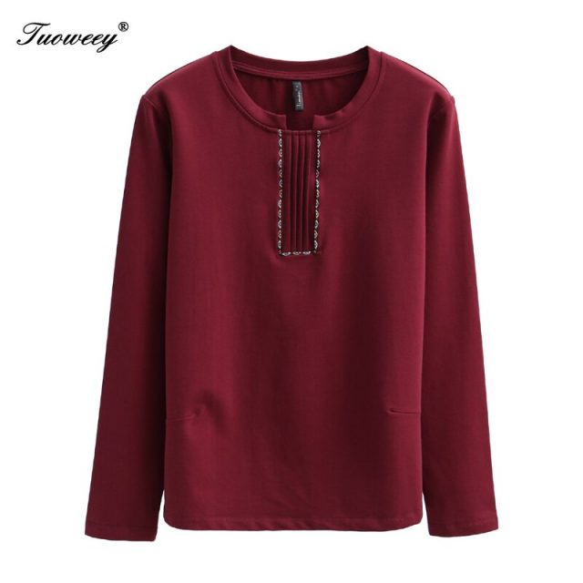 Women spring style plus size 4XL t-shirts Long Sleeve Buttons red Shirt 2020 Feminine Tops Checked Shirt Women
