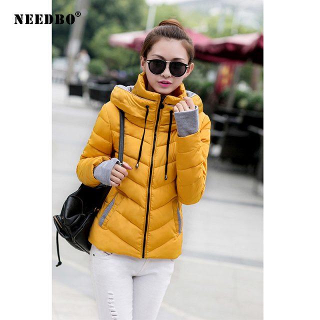 NEEDBO Women Down Jacket Brands Plus Size Winter Ultra Light Down Jacket Women High Quality Jacket Woman Coat Warm Slim Jacket