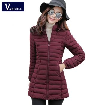 Winter jacket Woman Outerwear Slim Hooded Down Jackets 2017 Woman's Warm Coat Women Wadded Cotton Long Parkas Plus size 6XL