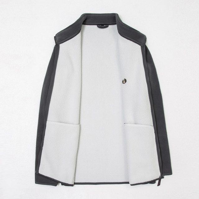 2019 New Fashion Thick Velvet Wind Breaker Fleece Jackets Mens Autumn Winter Trend Overcoat Slim Fit Casual Coat Men Clothing
