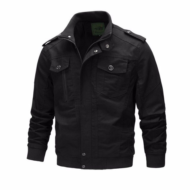 Casual Men's Jacket Spring Army Military Clothing Jacket Men Coats Winter Male Outerwear Autumn Overcoat Khaki 6XL