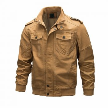 Casual Men's Jacket Spring Army Military Clothing Jacket Men Coats Winter Male Outerwear Autumn Overcoat Khaki 6XL