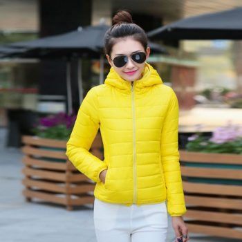 HCBLESS 2018 Women Parkas Winter Female Warm Thicken Middle-Long Slim Hooded jackets coat Outwear Parkas coat M-3XL