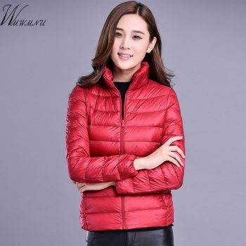 Plus size 4XL 5XL ultra light down Cotton jacket women 2019 Fashion streetwear baseball jacket winter casual Windproof outerwear
