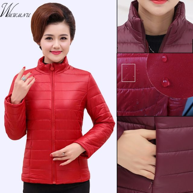 Spring Fashion ultra light short jacket women 2019 Casual Plus size 5XL basic jackets Female Streetwear warm coat overcoat 5XL