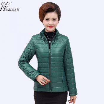 5XL Plus size Casual ultra light short jacket Winter jacket Women Snow wear fashion thicken parka female 2018 warm coat overcoat