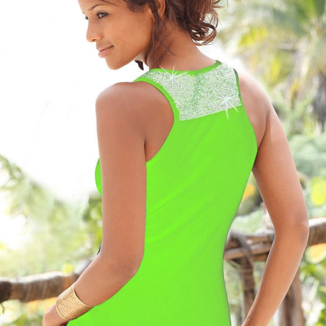Casual Fashion Plus Size Sleeveless Sequin Vest Tops Summer Ladies Casual Blouse T Shirt Camisa Femenina Tank Top Women
