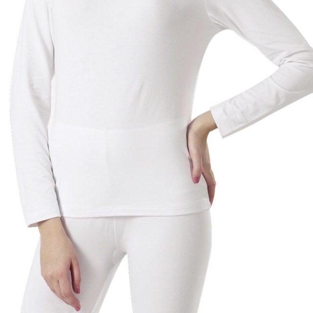 Womens Warm Long Johns Thin Long Sleeves Undershirt V Neck Warm Underwear 4XL 5XL 6XL Womens Plus Size Thermal Underwear 026