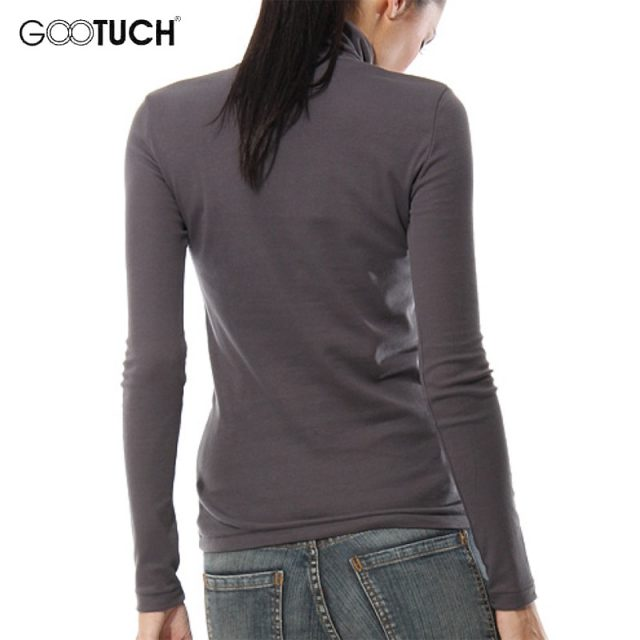 Winter Womens Long Sleeve Turtleneck High Collar T Shirt Fashion Top Tees Keep Warm Shirt 5XL 6XL Womens Plus Size T Shirts 7095
