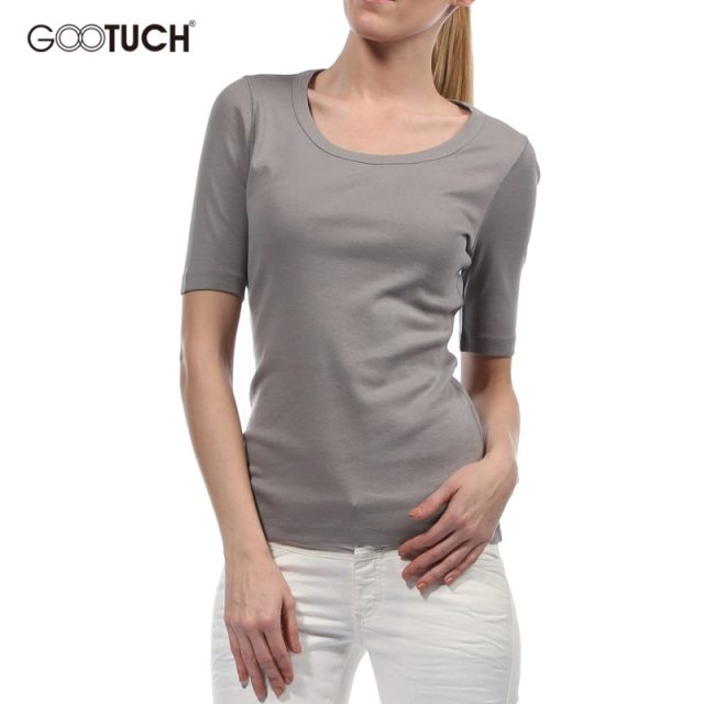Fahion Women T Shirt Half Sleeve Round Neck Top Casual Modal Comfortable Plus size T-Shirt Solid Color 4XL 5XL 6XL Top Tees 2468