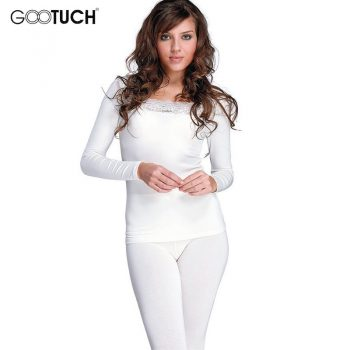 Women's Cotton Long Johns Set Winter Warm Bodysuit Termica Sexy Lace Thermal Underwear Set Plus Size Women Thermos Lingerie 2527