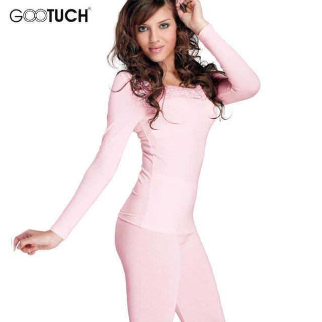 Women's Cotton Long Johns Set Winter Warm Bodysuit Termica Sexy Lace Thermal Underwear Set Plus Size Women Thermos Lingerie 2527