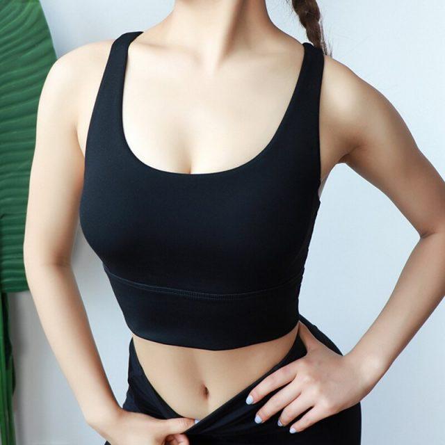 2019 Black Fitness Women Sexy Top Sports Tanks Women Bodycon Spandex Purple Woman Clothes Yellow Work Out Lumbar Tank Tops Girls
