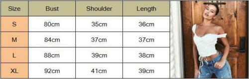 2019 New Women Sexy Off Shoulder Crop Top Casual Bralet Tank Top Crop Fashion Soild White Pullover Cami Tops Summer Clothes