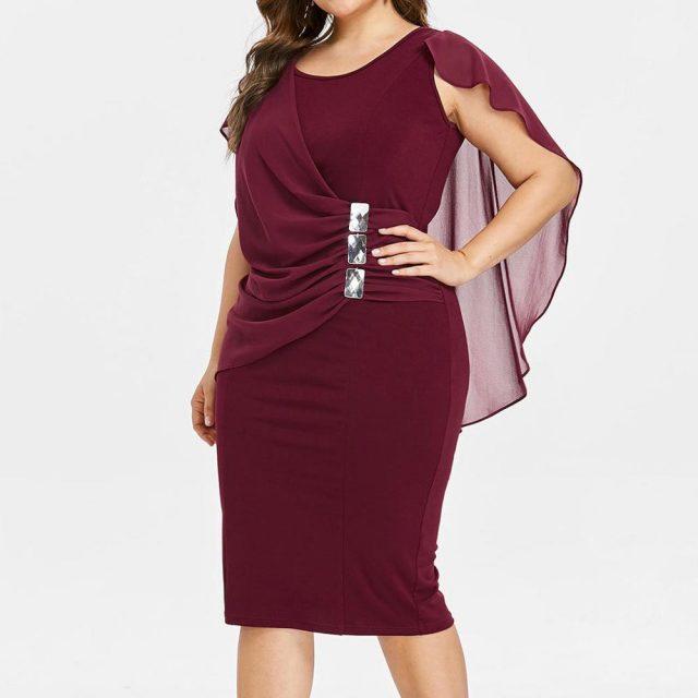 2019 Summer Dress Sexy Fashion Women Casual Chiffon Plus Size Solid O-Neck Sleeveless Loose Dresses Party Night vestidos ED