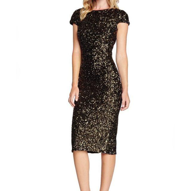 Women's Sparkle Glitzy Glam Sequin Short Sleeve Flapper Party Club Dress  dresses woman party night robe femme ete 2019#4D03 #F