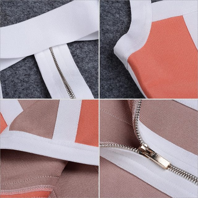 Adyce 2019 New Summer Women Striped Bandage Dress Halter Sleeveless Knee-Length Clubwears Celebrity Evening Party DressVestidos