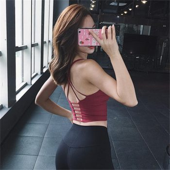 Sports Bras Fitness Yoga Bra Running Sexy Lady Sportswear Sports Top Sport Bra New Sports Wear for Women Gym Sports Bras