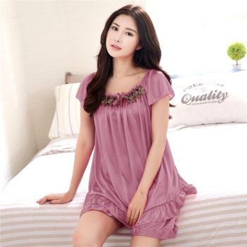 Plus Size Silk Satin Sexy Lace Short Sleeve Pajama Sets for Women 2020 Hot Summer Shorts Sleepwear Homewear Pijama Mujer Clothes