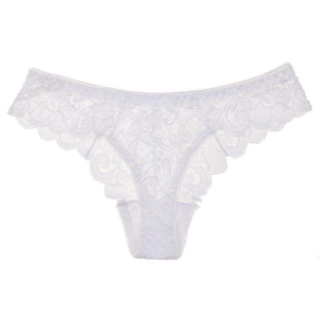 SP&CITY Simple Lace Hollow Out String Sexy Cotton Underwear Women Temptation Hot Low Waist Underpants Sex Thong Female Lingerie