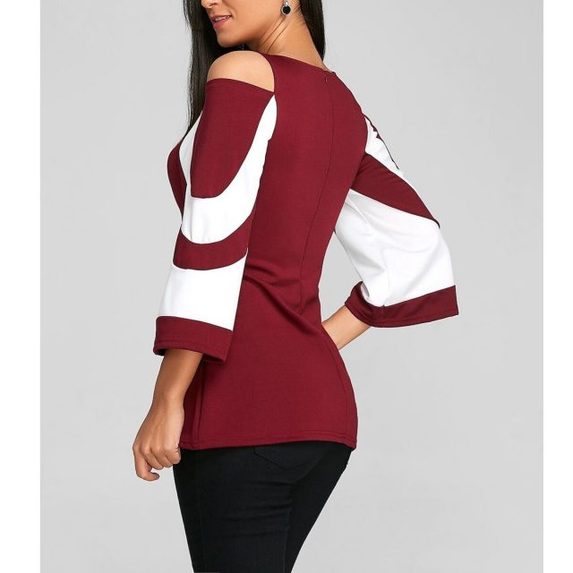 Women's Blouse And Shirt Spring Summer Sexy Off Shoulder blusas mujer de moda 2020 Vintage Plus Size Tops harajuku ropa mujer