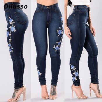 2020 Newest Arrivals Fashion Hot Women Lady Denim Skinny Pants High Waist Stretch Jeans Slim Pencil Jeans Women Casual Jeans#D3